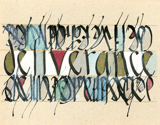 Word Drawing 5 x 8""